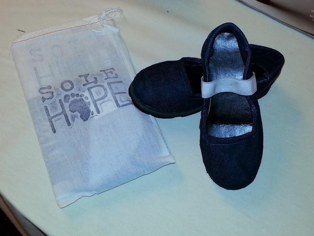 Shoe finished